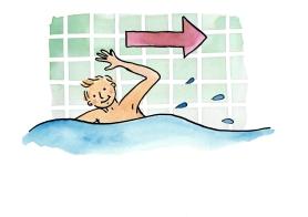 15_Vooruit zwemmen